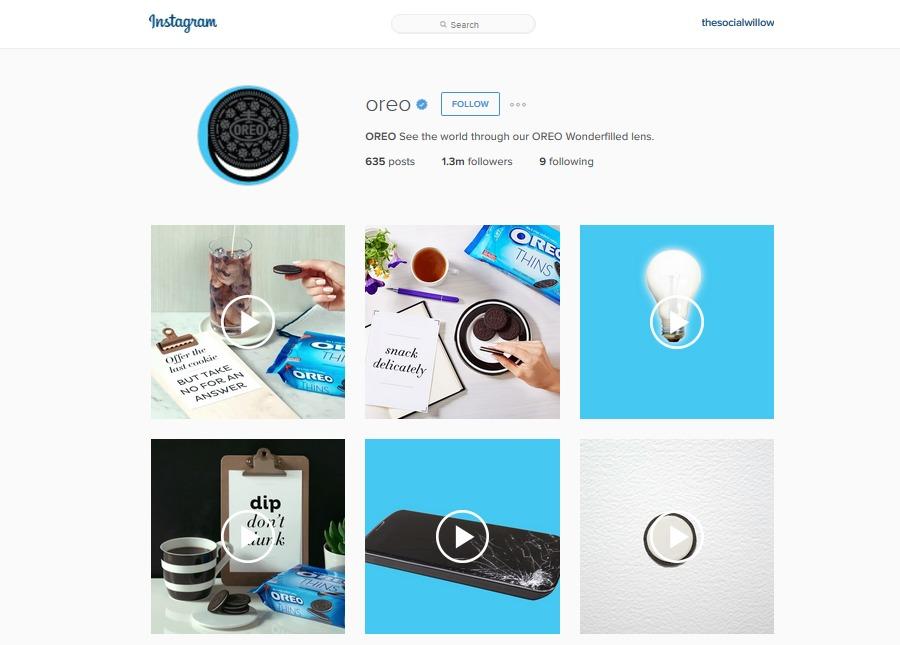 Oreo Instagram