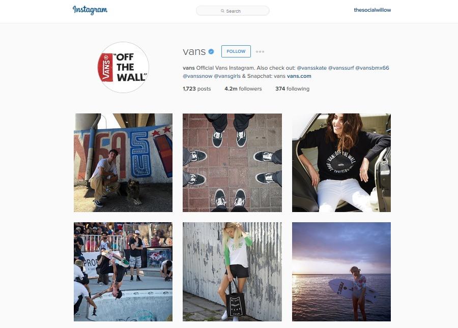 Vans Instagram