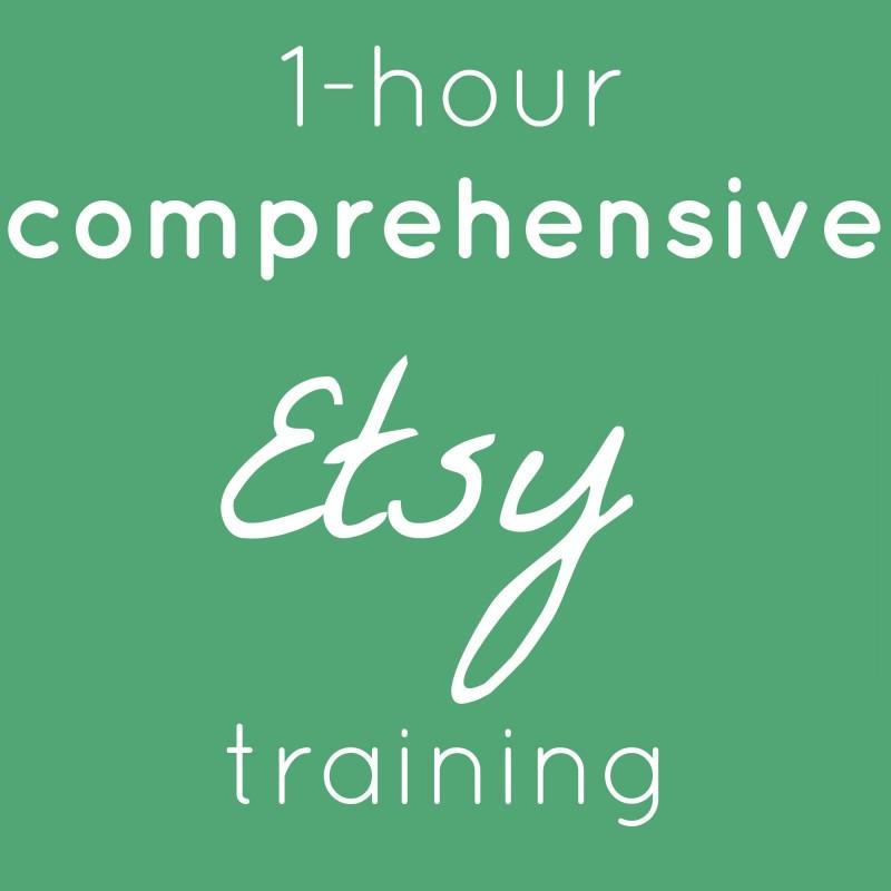 Etsy training